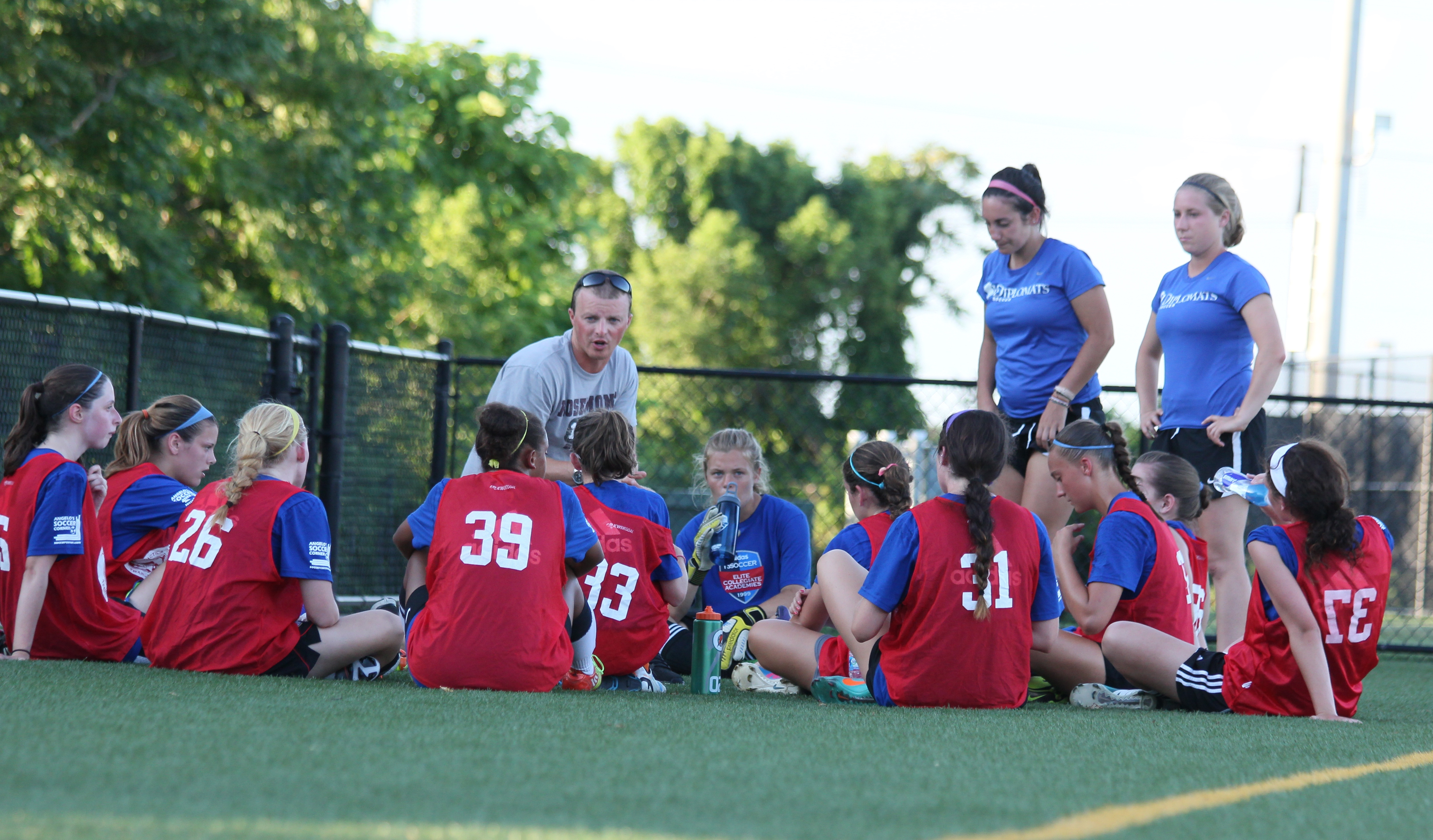 Best Girls Soccer Camps in USA with Coach Tritch