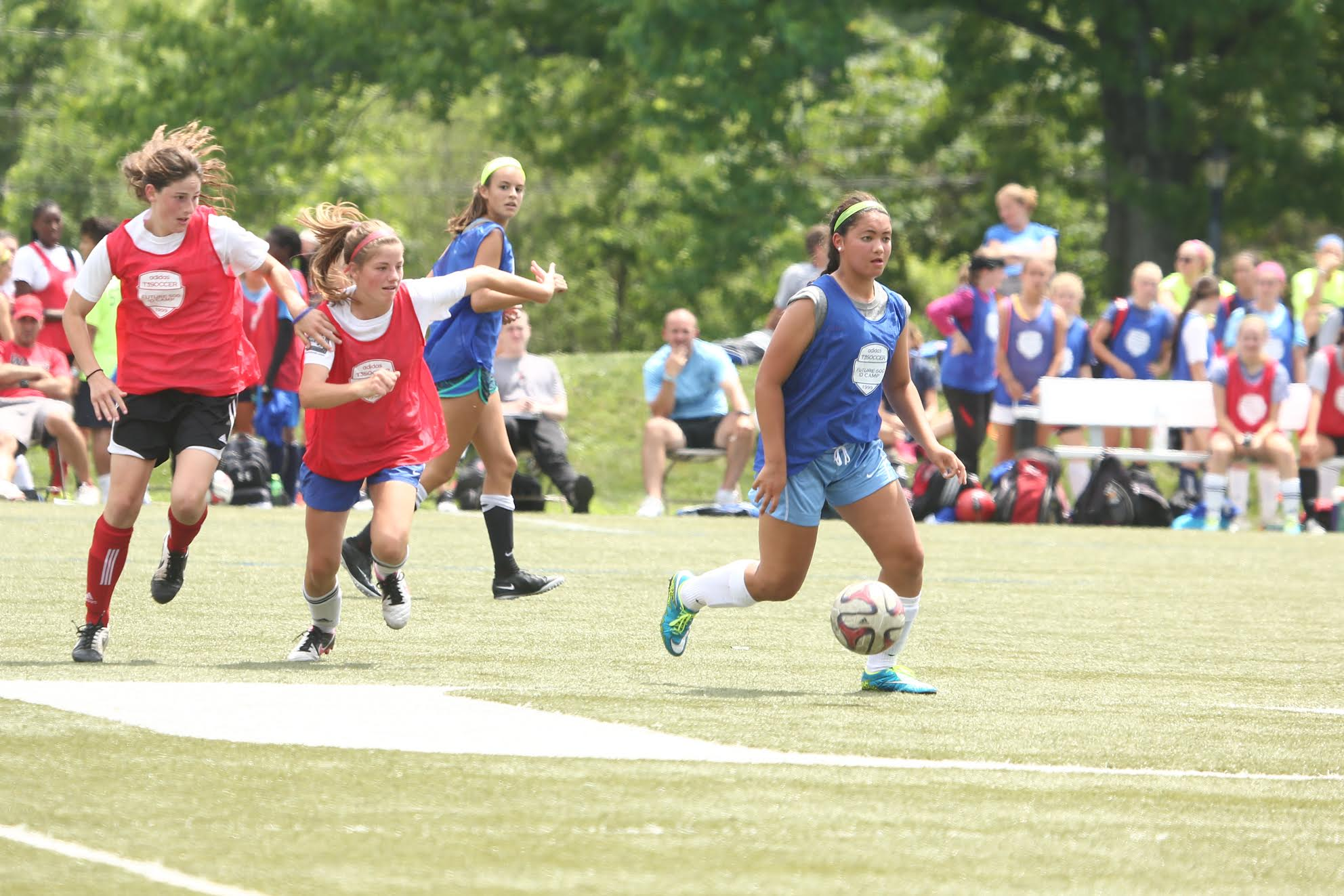 best girls soccer camps competing picture