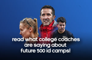 College Coaches talk about Soccer Camps with Adidas Future 500 picture